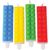 Block Mania Candle (pack of 4) - Party Themes