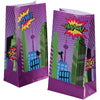 Superhero Paper Bags (pack of 12) - Party Themes
