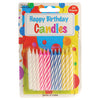 birthday candles 24 st  - Carnival Supplies
