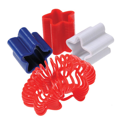 Patriotic Star Springs (1 Dozen) - Holidays