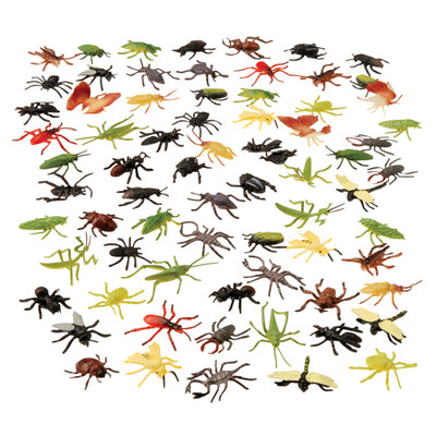 Toys - Assorted Insects-72 Piecess