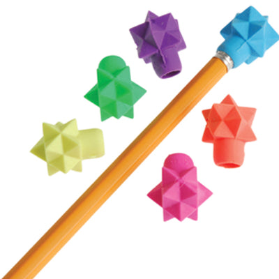 Star Eraser Pencil Tops - 48 pieces - School Stuff