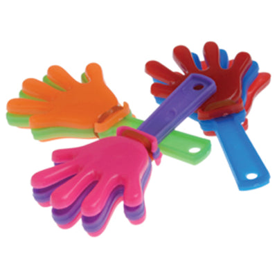 Mini Hand Clappers - 36 Pieces - Party Supplies