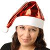 Metallic Santa Hat - Holidays