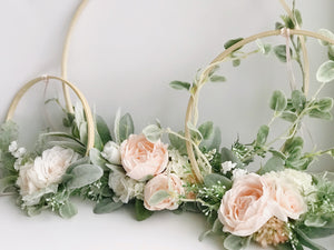 Celebration floral hoops by RosyRilli