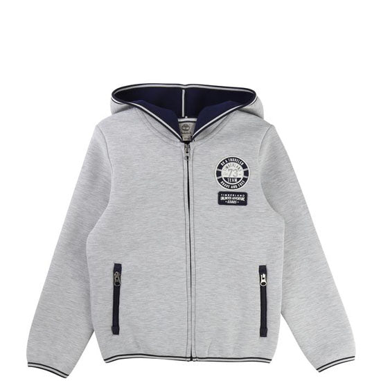 Timberland T25M48 Hooded Cardigan Grey