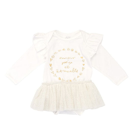 Alex and Ant Amour Tulle Onesie