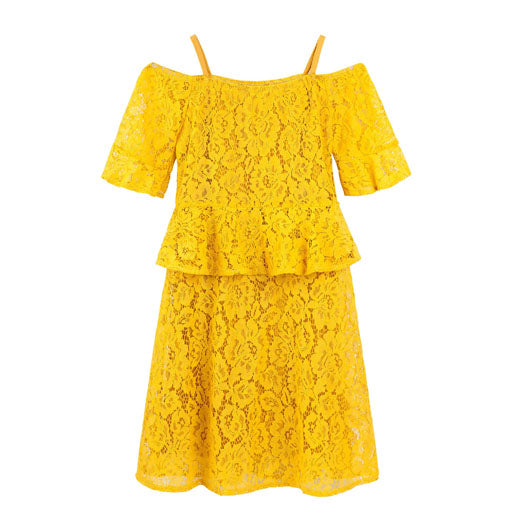 Designer Kidz Azalea Lace Dress