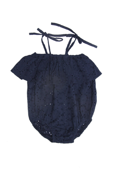 Alex and Ant Bella Playsuit Navy