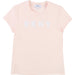 DKNY Girls Logo T-Shirt Pink