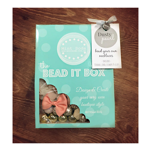 Bead It Box - Dusty Pearl