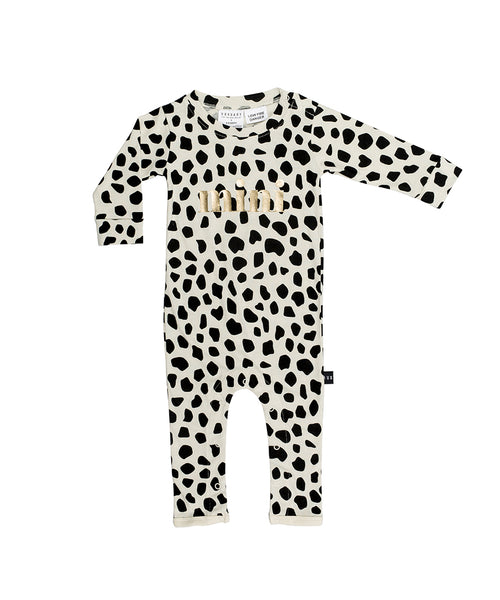Huxbaby Leopard Romper Sand