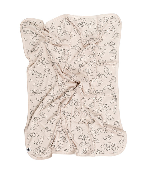 Huxbaby Butterfly Blanket Peony