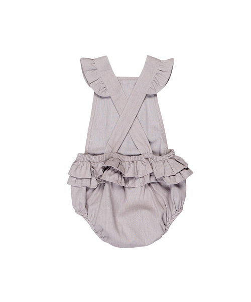 Huxbaby Woven Playsuit Lavender