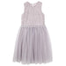 Designer Kidz Elizabeth Lace Dress - Grey - Little Entourage Children's Boutique