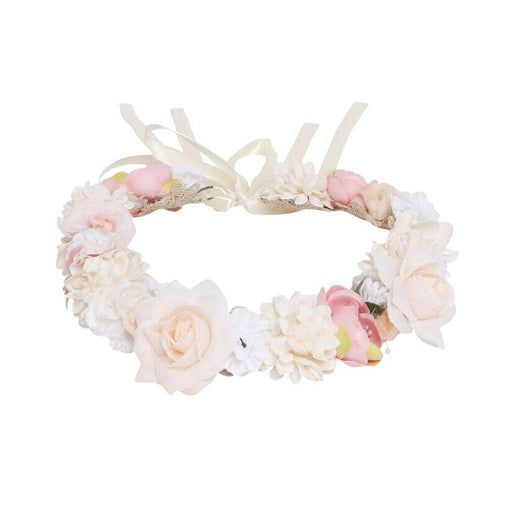 Designer Kidz Juliette Flower Crown Pink