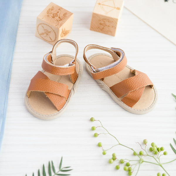 Little Entourage Frankie Soft Leather Sandal