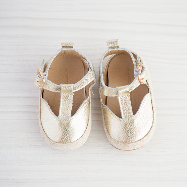 Little Entourage Stephanie Soft Leather Espadrille