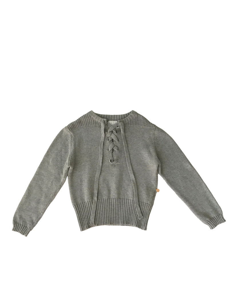 Alex and Ant W18S39 Jumper Grey - Little Entourage Children's Boutique