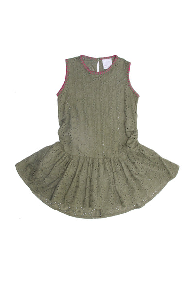 Alex and Ant Ruby Dress Khaki