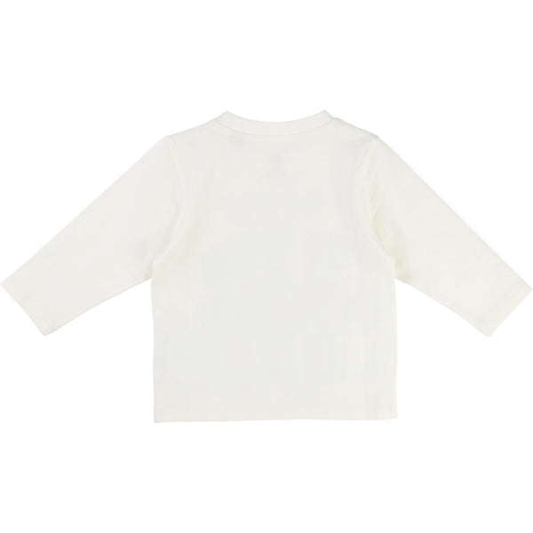 Timberland T05G61 Long Sleeve Tee Off White