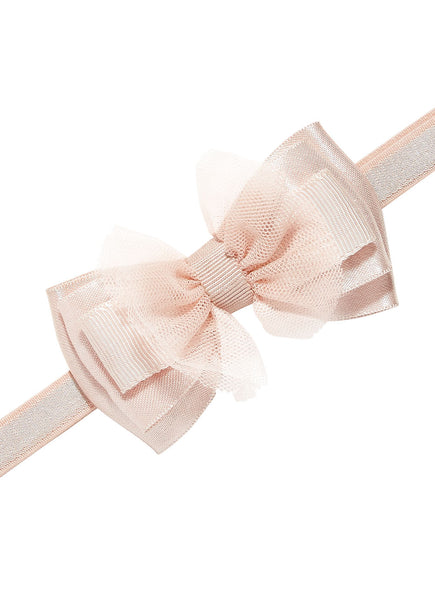 Tutu Du Monde Bow Tales Headband Tea Rose