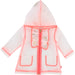 Billie Blush Infant Confetti Rain Coat