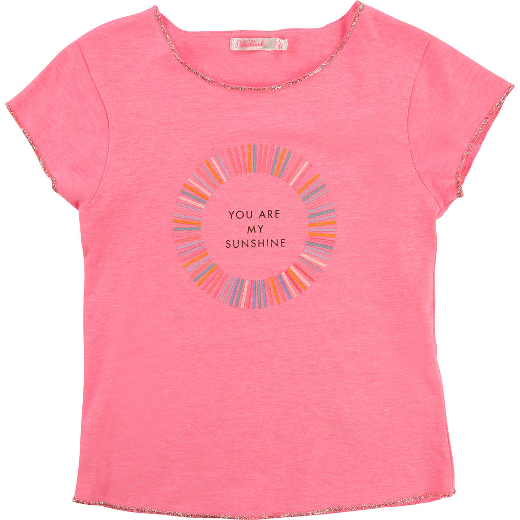Billie Blush Sunshine Tee Pink