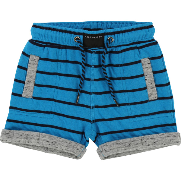 Little Marc Jacobs Space Rock Shorts Blue