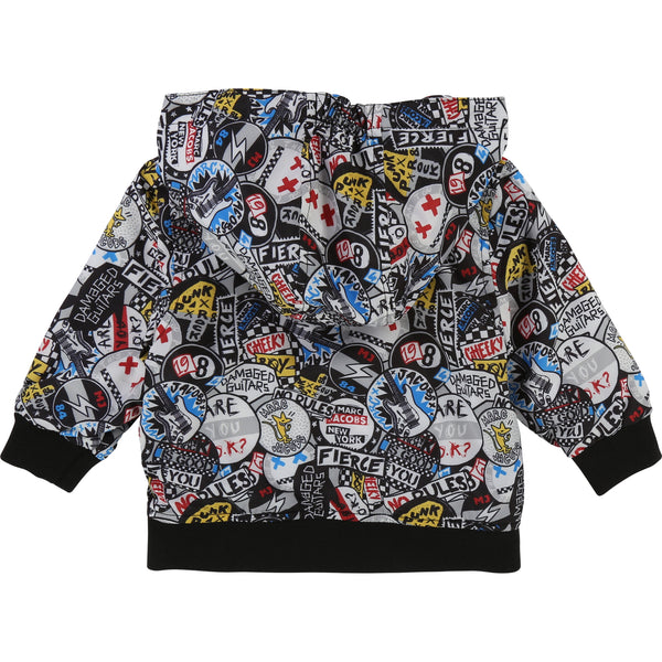 Little Marc Jacobs Reversible Printed Windbreaker