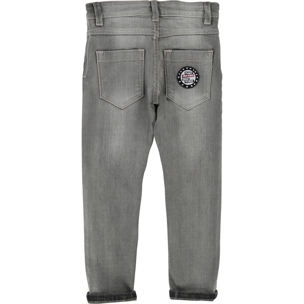 Little Marc Jacobs Boys Grey Denim Jeans
