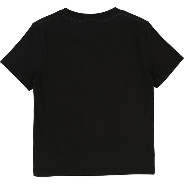 Little Marc Jacobs Boys Printed Tee Black