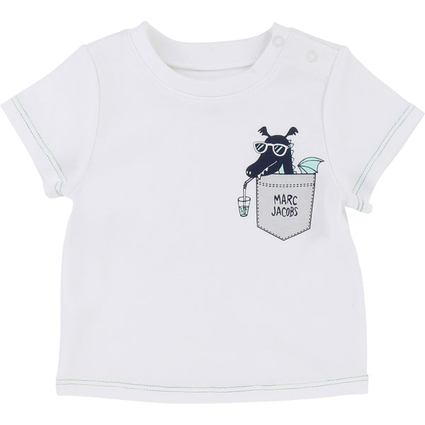 Little Marc Jacobs T -Shirt and Shorts Pack Blue