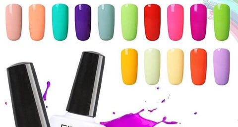 Macaron Colored Nail Polish - 20 Colors - 10ML - Blossomlipsmakeup