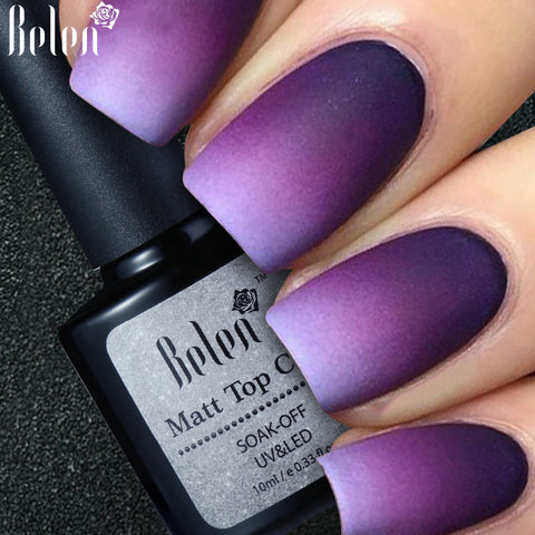 Matte Top Coat Polish - 10ML - Blossomlipsmakeup