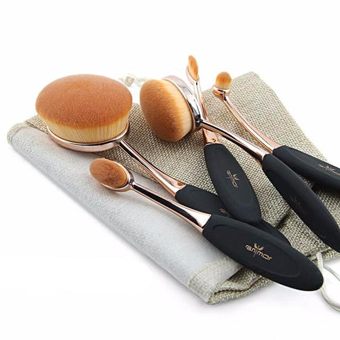 NEW 2017 Oval Brush Set - Blossomlipsmakeup