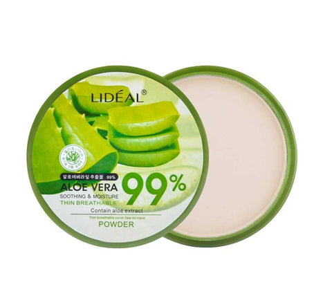 Natural Aloe Vera Moisturizing Loose Powder - Whitening! - Blossomlipsmakeup