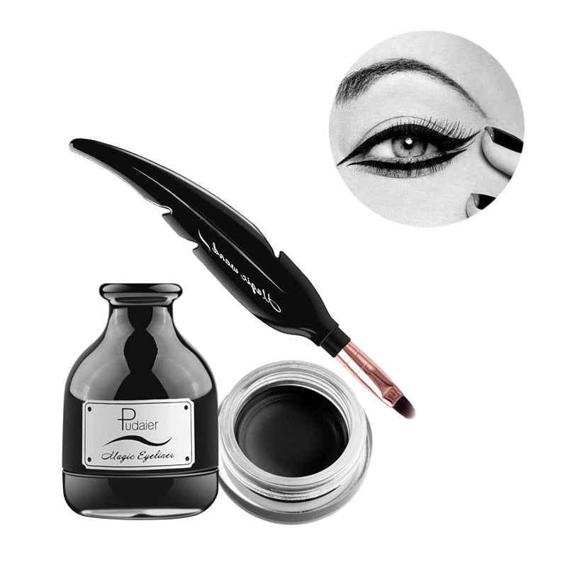 New 2017 Stylish Eyeliner Feather Brush - Blossomlipsmakeup