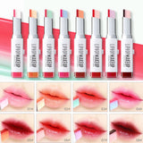 Long- Lasting Waterproof Two Color in 1 Tint Lip Gloss Lipstick Lip Balm ( 8 colors) - Blossomlipsmakeup