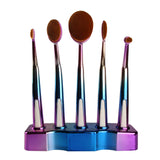 5 Pcs Eyeshadow Foundation Powder Brushes - Blossomlipsmakeup