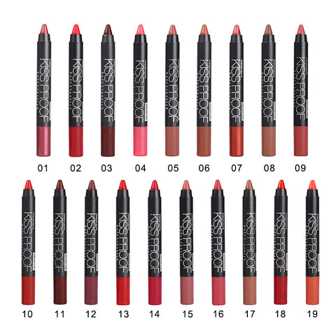Kiss-Proof Pencil Lipstick - Blossomlipsmakeup