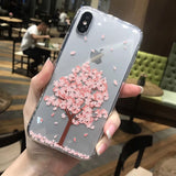Cherry Tree and blossom flower iphone X - Blossomlipsmakeup