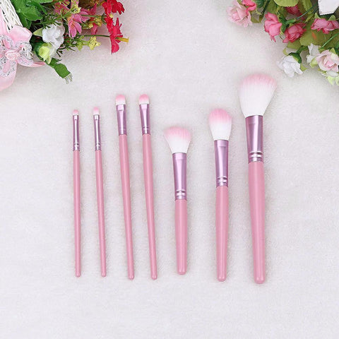 Pink Blossom Mini Brush Set - Blossomlipsmakeup