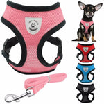 Hanes™ – Breathable Nylon Pet Harness & Leash Set
