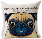 PugLife™ - Funny Pugs Linen Cover