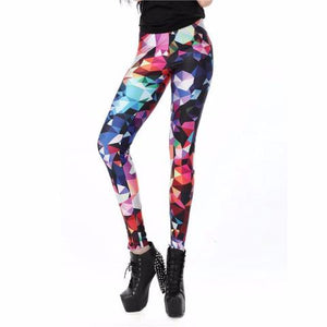 Flare™ – Luminescence Printed Color Leggings