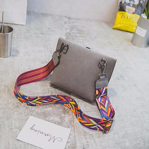 Evo™ – Colourful Strap Leather Handbag