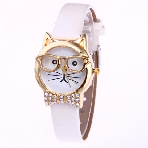 Feline™ – Cute Cat Glasses Watch