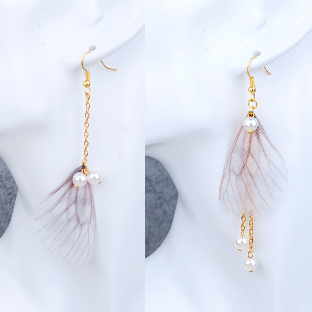 Ethereal™ – Organza Butterfly Earrings
