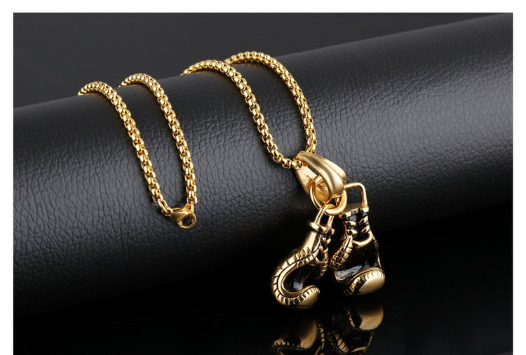 BoxerGlove™ - Boxing Glove Pendant Necklace